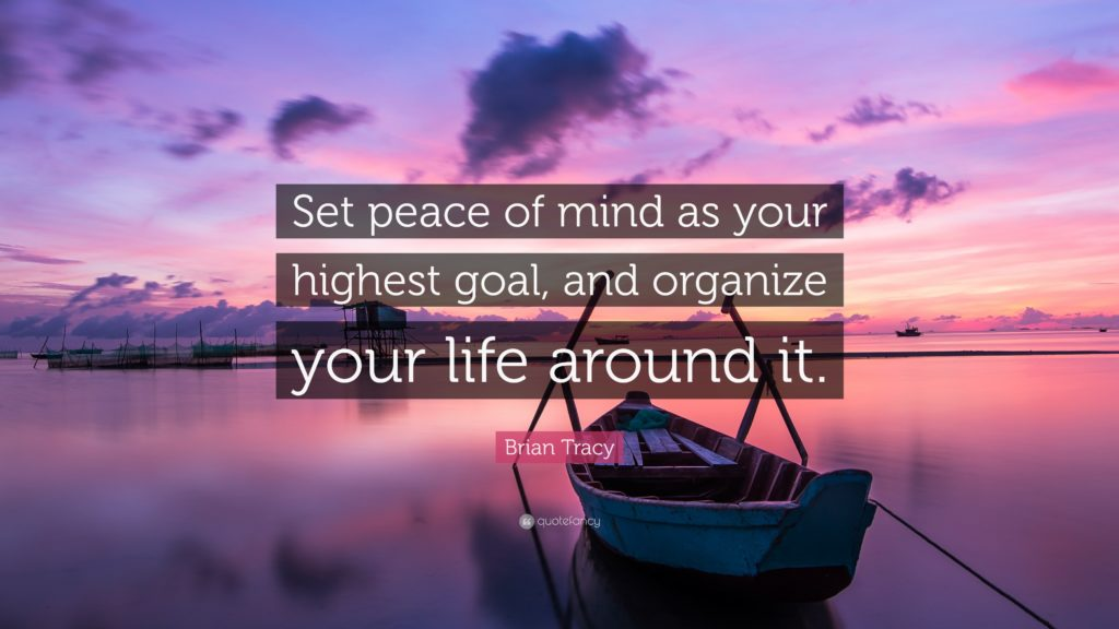 peace of mind, life quotes